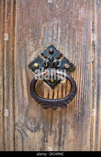 Iron Door Knob Handle Close Stock Photos Iron Door Knob Handle