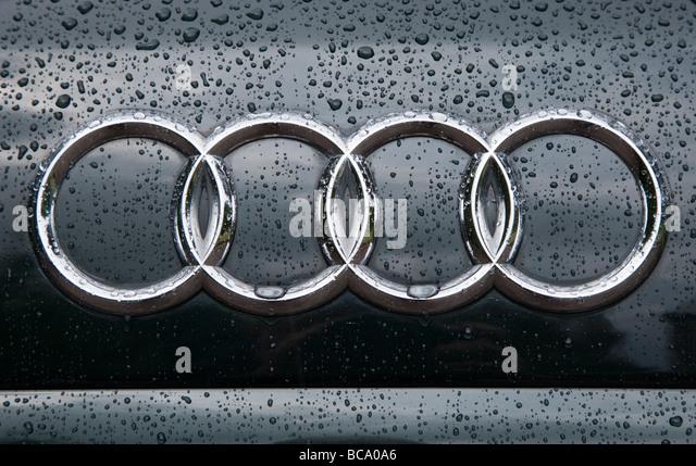 Audi Car Symbol Stock Photos Audi Car Symbol Stock Images Alamy - Audi car symbol
