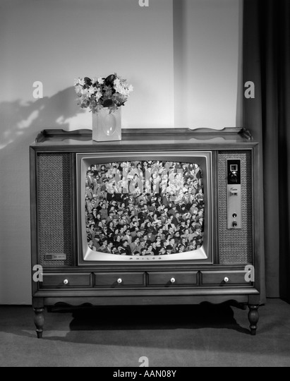 Television set 1960s stock photos amp television set 1960s stock images