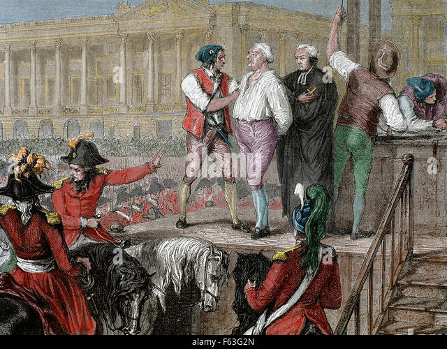 execution of louis xvi Deposed during the french revolution, louis xvi was executed by guillotine in  january 1793, months before his wife, marie antoinette, fell.