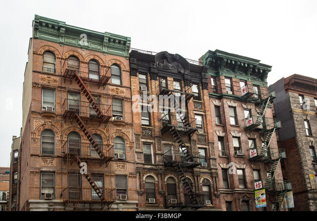 City Apartment Building Lower East Side Stock Photos Lower East Side Stock