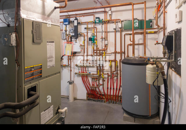 Energy efficient home heating stock photos energy for What is the most economical heating system