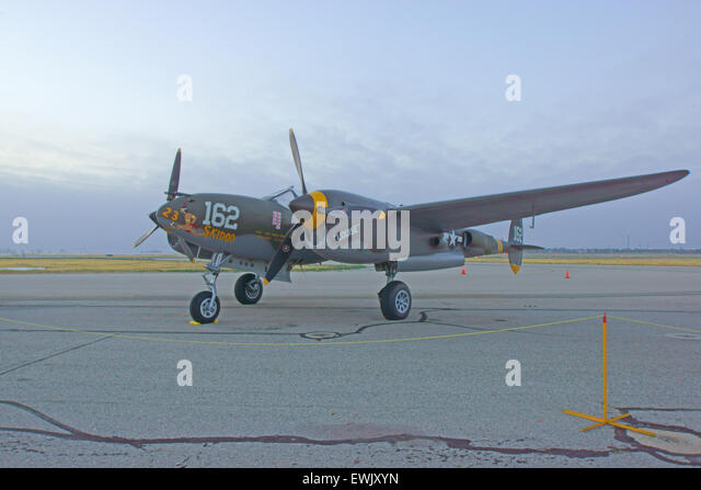 WWII P-38 Lightning Fighter Airplane on the runway at 2015 Planes of Fame Air & Airplane Lightning P 38 Fighter Stock Photos u0026 Airplane Lightning ... azcodes.com