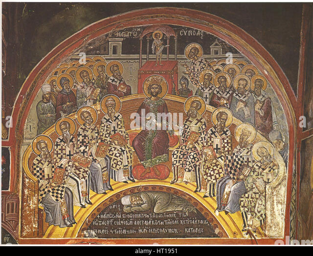 82531 council of nicaea ok a1 The first council of nicaea was a council of christian bishops convened in the  bithynian city of nicaea by the roman emperor constantine i in ad 325.