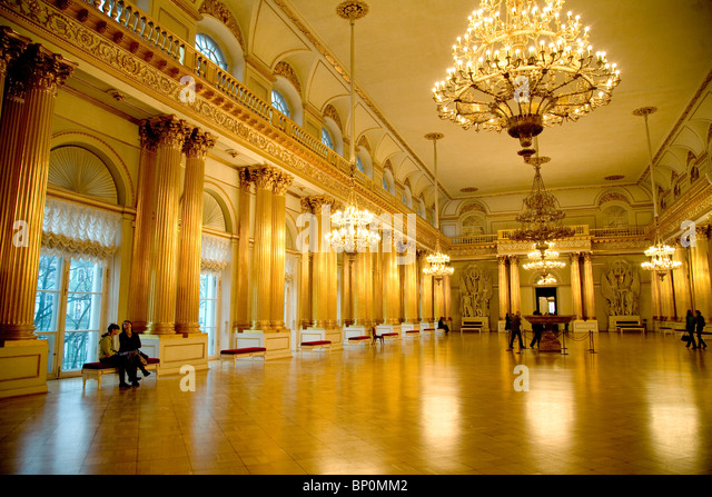 Gold Room State Hermitage Museum Stock Photos & Gold Room State ...