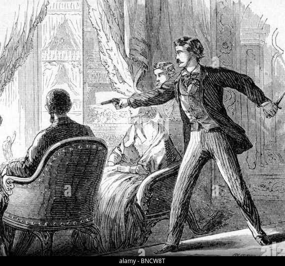 Abraham Lincoln Assassination 14 April 1865 At Ford's ...  Abraham