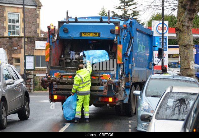 refuse collection lorry england stock photos refuse. Black Bedroom Furniture Sets. Home Design Ideas