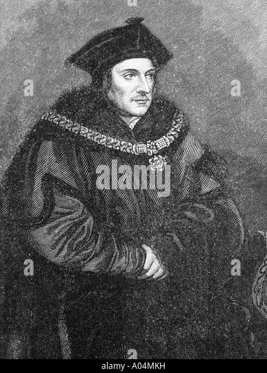 an overview of the work of sir thomas more 'we are all thomas more's children' hans holbein the younger's portrait of sir thomas more (1527) as he set a vast number of men to work, he.