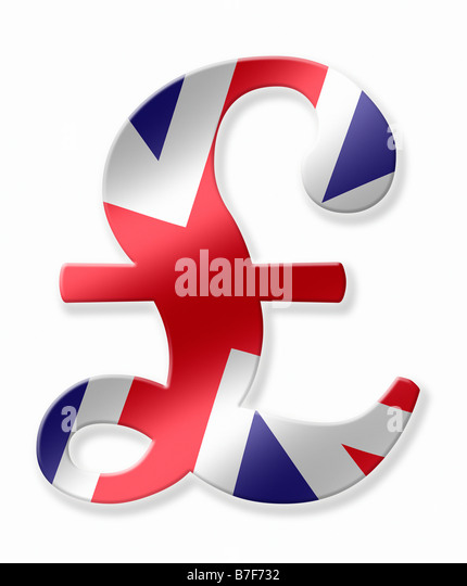 Great Britain Pound Sign Forex Trading