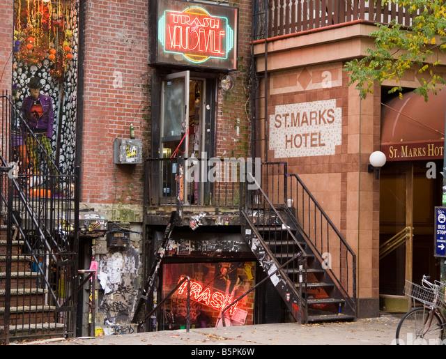 hippie clothing shop stock photos hippie clothing shop