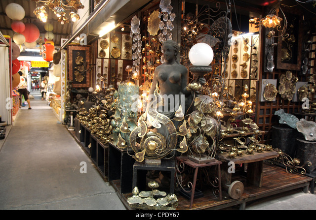 Furniture And Home Decorations Shop In Chatuchak Weekend Market Bangkok  Stock Image