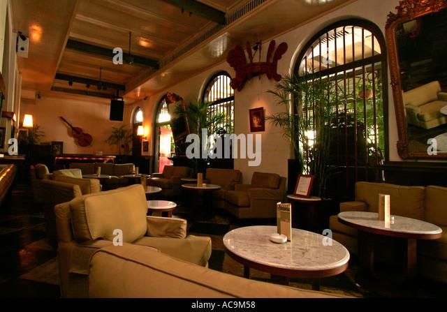 Interior Of Cafe Batavia Jakarta Indonesia