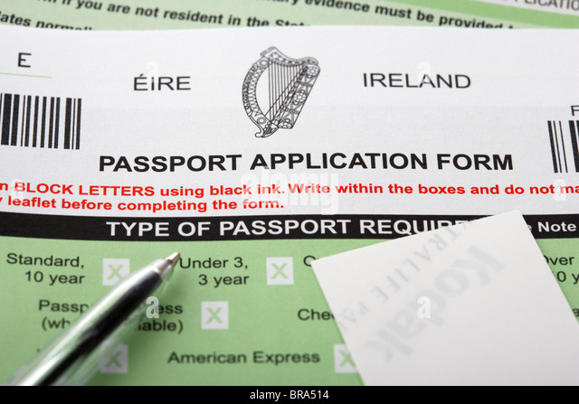 Passport Application Form Stock Photos & Passport Application Form