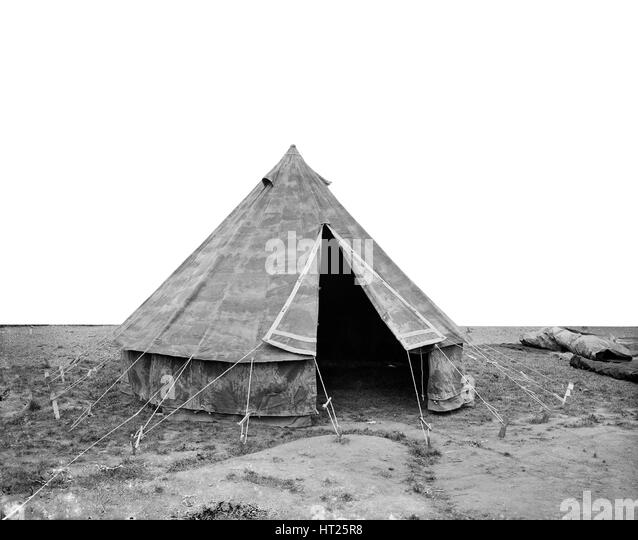 Conical canvas tent Waring u0026 Gllow factory White City London August 1916  sc 1 st  Alamy & Conical Tents Tent Stock Photos u0026 Conical Tents Tent Stock Images ...