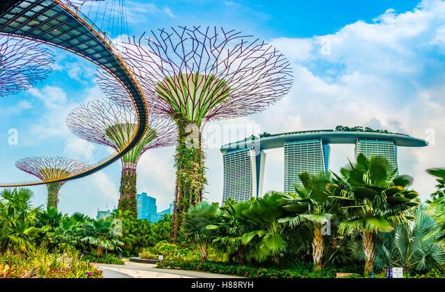 Garden By The Bay Architect gardens bay singapore singapore architect stock photos & gardens