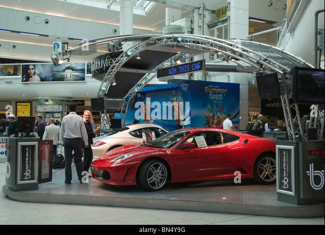 London Gatwick Airport South Terminal Luxury Car Lottery Or Draw