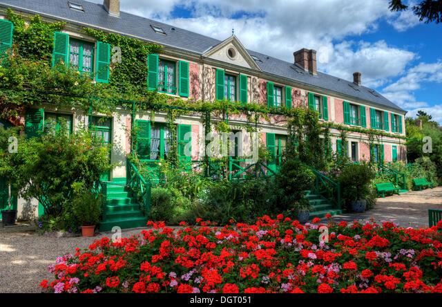 Claude Monet Garden Giverny Stock Photos Claude Monet Garden