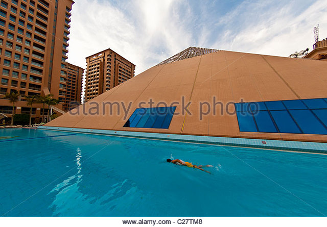 Egypt cairo swimming pool hotel stock photos egypt cairo swimming pool hotel stock images alamy for Stars swimming pool tacloban city