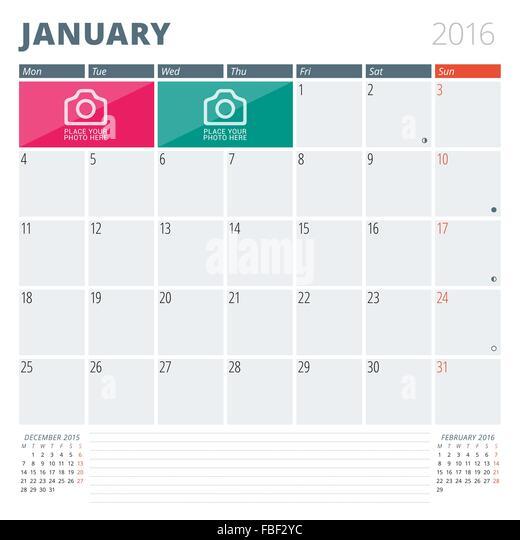 Year Calendar Jsf : January calendar stock vector images alamy