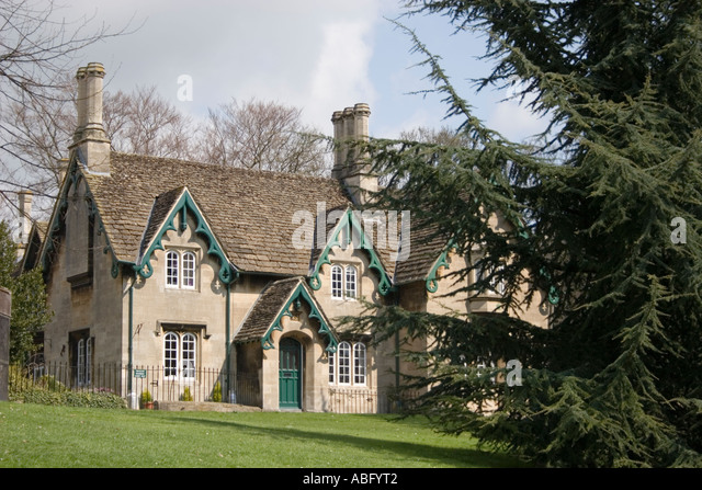 Historical Gardeners House In Victoria Park Bath Spa Somerset England Europe