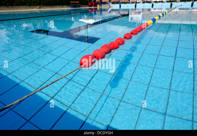 Olympic Swimming Pool Lanes olympic size pool stock photos & olympic size pool stock images
