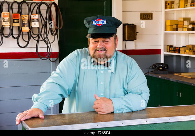 Gas Station Attendant Stock Photos & Gas Station Attendant Stock ...