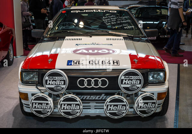 audi quattro rally stock photos audi quattro rally stock. Black Bedroom Furniture Sets. Home Design Ideas