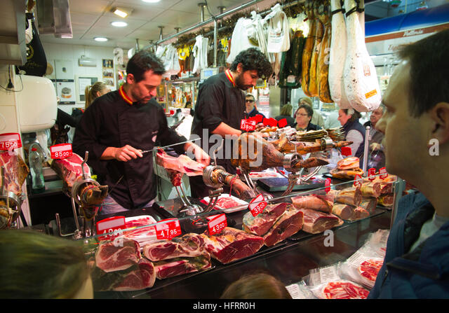 Caceres Spain Fresh Food Market