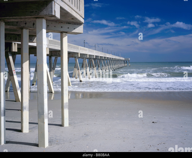 Mercers stock photos mercers stock images alamy for Carolina beach fishing pier