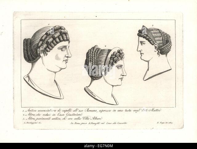 Phenomenal Ancient Hairstyles Stock Photos Amp Ancient Hairstyles Stock Images Short Hairstyles Gunalazisus