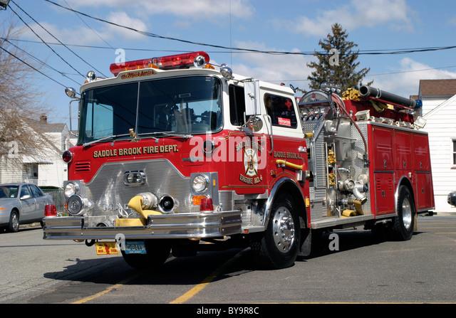 Old Mack Fire Trucks : Mack fire truck stock photos