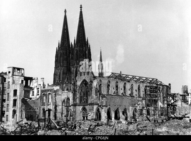 Germany city 1945 stock photos germany city 1945 stock for Koln ww2