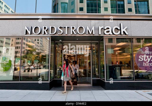 Nordstrom Rack Washington Dc Stock Image