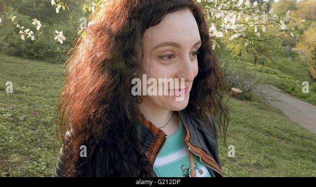 Closeup Attractive Girl Sunset Stock Photos & Closeup Attractive ...