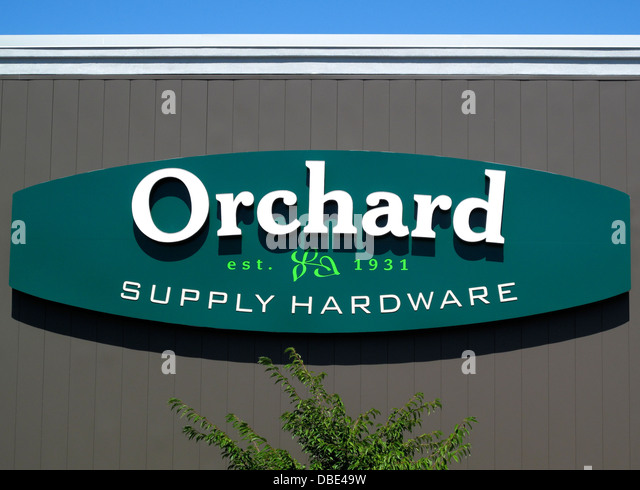 Orchard Supply Hardware Store Sign At Princeton Plaza In San Jose,  California   Stock Image