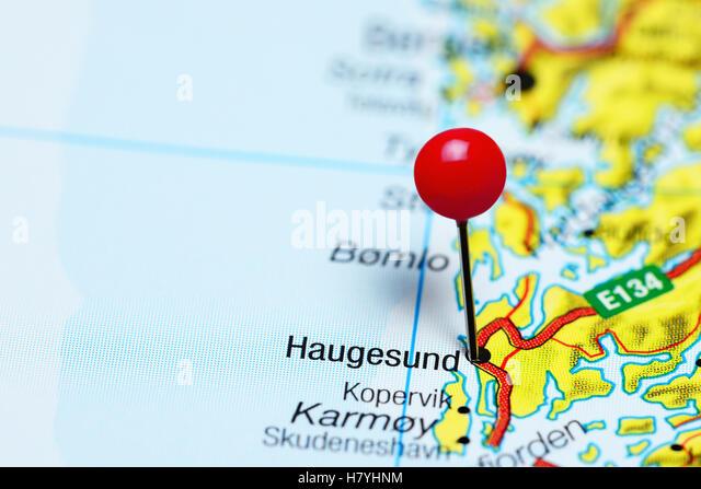 Haugesund Norway Stock Photos Haugesund Norway Stock Images Alamy - Norway map haugesund