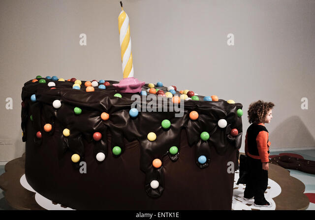 Giant Birthday Cake Stock Photos Giant Birthday Cake Stock