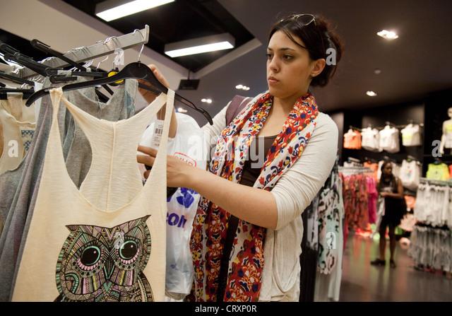 Teen Clothes Shopping Uk Stock Photos & Teen Clothes Shopping Uk ...
