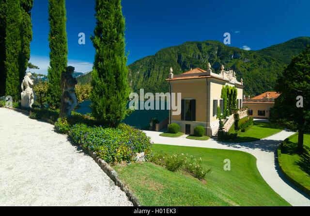 Italie lombardie lac de lenno stock photos italie - Jardin d italie chateauroux ...