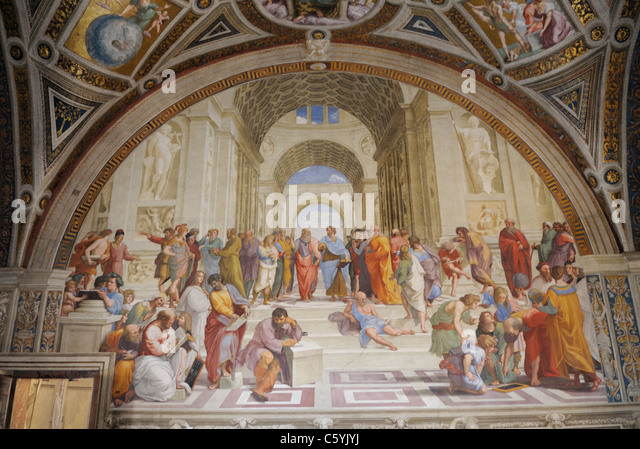school of athens by raphael analization The school of athens by raphael image via creative commons on a wall of the vatican's apostolic palace is the school of athens, a fresco painted by raphael between 1509 and 1511 it is, in a .
