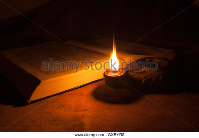 lamp and bible - photo #18