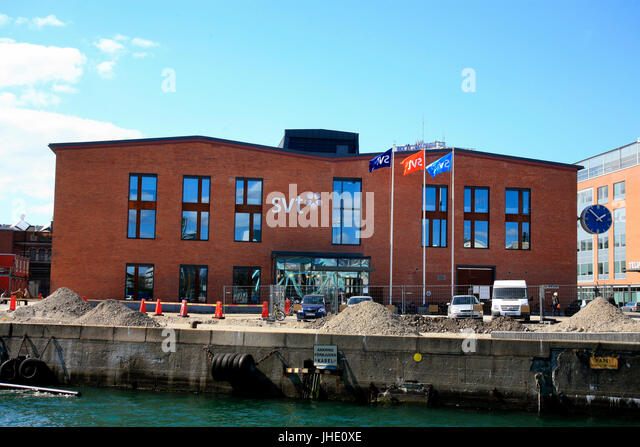 SWEDISH TELEVISION office and studios in Malmö 2010 - Stock Image