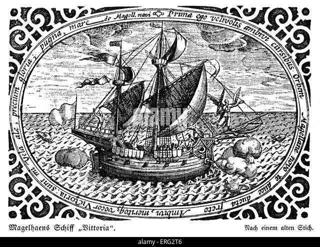 Ferdinand Magellan Portuguese Explorer: Ferdinand Magellan Ship Stock Photos & Ferdinand Magellan
