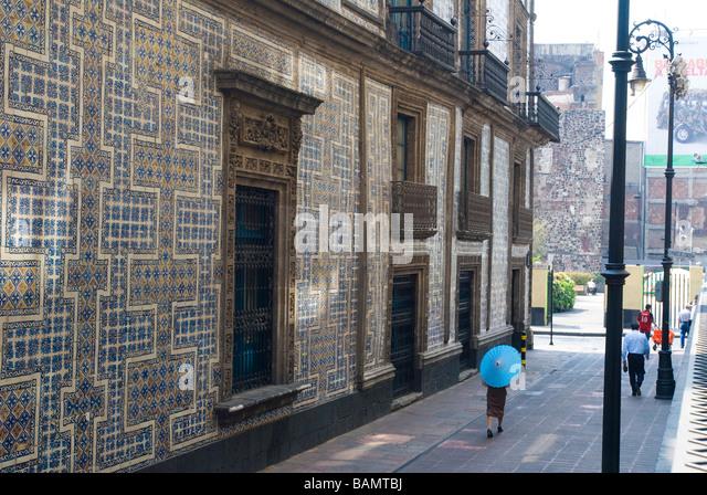 Talavera tile stock photos talavera tile stock images for Casa de los azulejos puebla