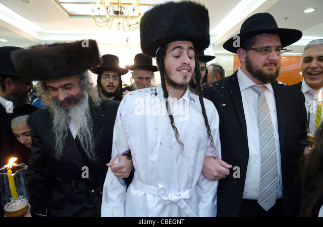 Jewish Orthodox Wedding Celebration Jerusalem Israel