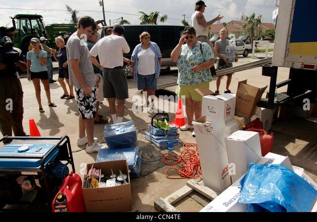 Florida punta gorda hurricane charley stock photos for Charley s fishing supply