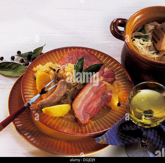 alsatian food stock photos alsatian food stock images alamy. Black Bedroom Furniture Sets. Home Design Ideas