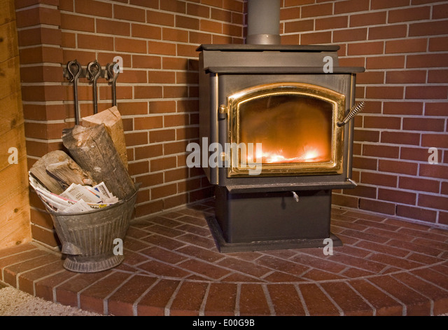 Wood Burning Stove Stock Photos Wood Burning Stove Stock Images Alamy