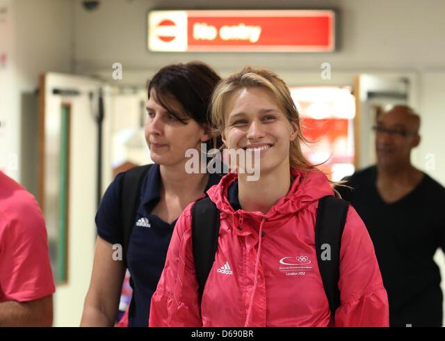 Arrivals airport germany stock photos arrivals airport for Christian heidemann