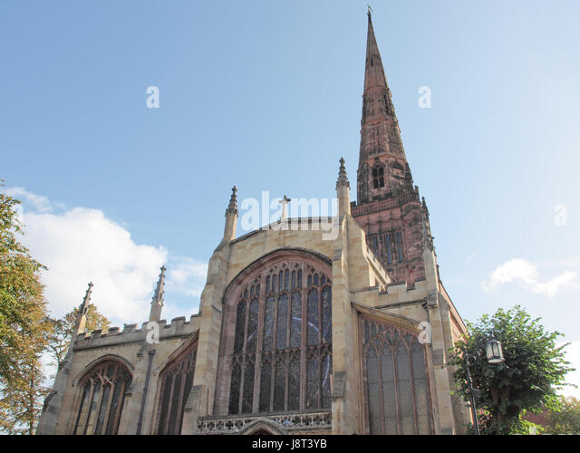 Parish Church Coventry Stock Photos Parish Church Coventry Stock Images